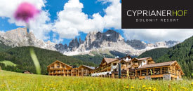 CYPRIANERHOF Dolomit Resort