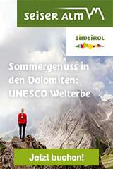 Sommergenuss in den Dolomiten